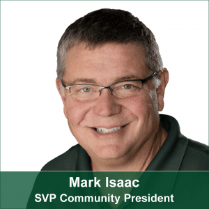 Mark Isaac-SVP Community President