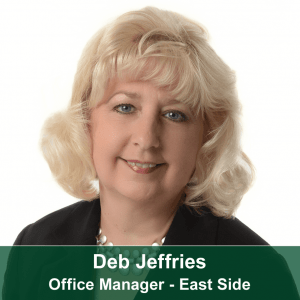 Deb Jeffries-East Side Office Manager