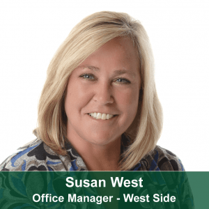 Susan West-West Side Office Manager