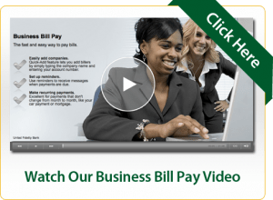 Watch Our Business Bill Pay Video