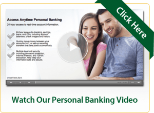 Watch Our Personal Banking Video