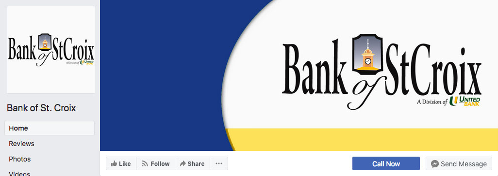 Bank of St. Croix Facebook Page